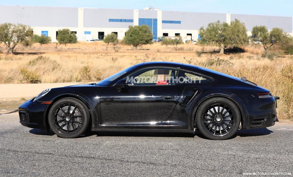 2020 Porsche 911 Turbo spy shots