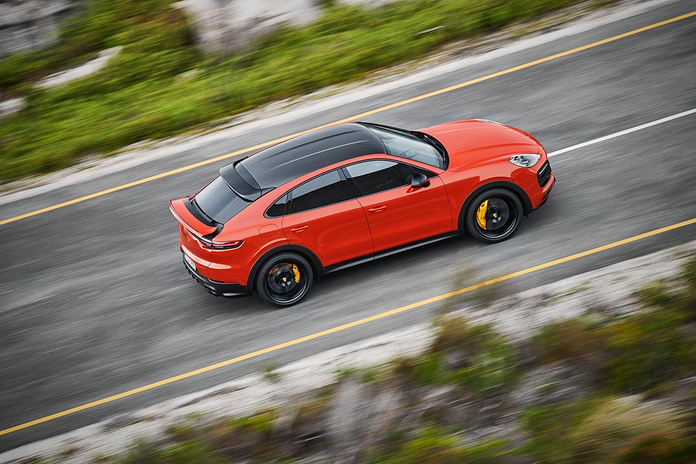 2020 Porsche Cayenne Coupe debuts, stretches expectations for a crossover SUV