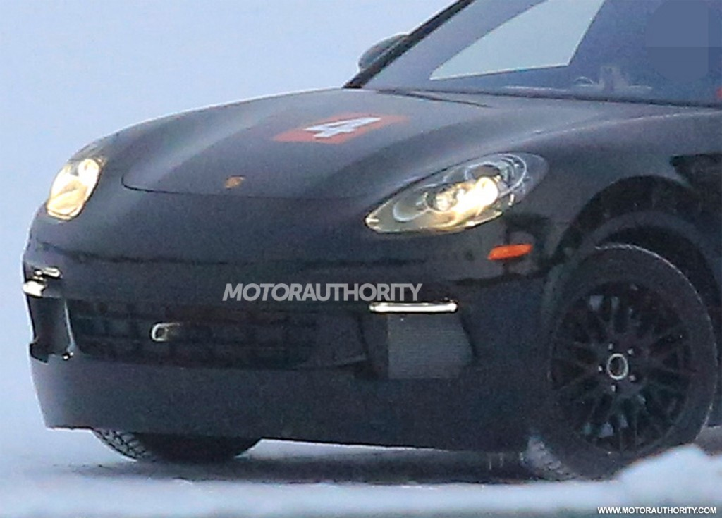 Porsche Mission E Electric Car Spy Shots