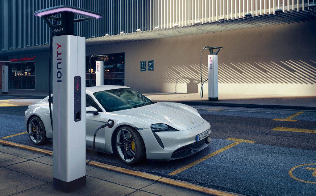 Highest Performance Version Of Porsche Taycan Electric Car Goes Lowest On Range