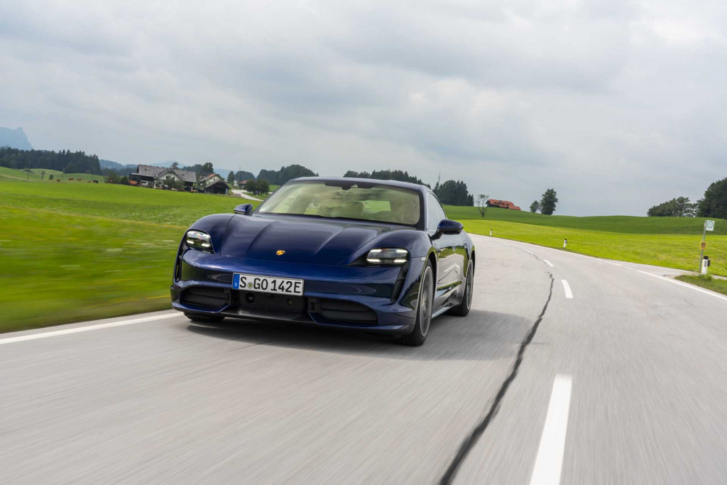 2020 Porsche Taycan Turbo first drive