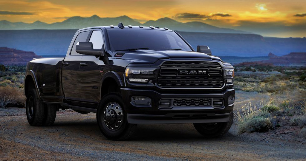 2020 Ram Heavy Duty Limited Black Edition goes dark, expensive