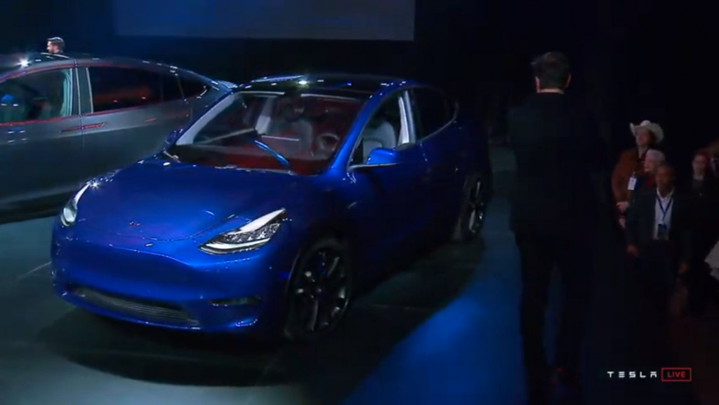 2020 Tesla Model Y first details 300,mile electric SUV, starting around  $48k