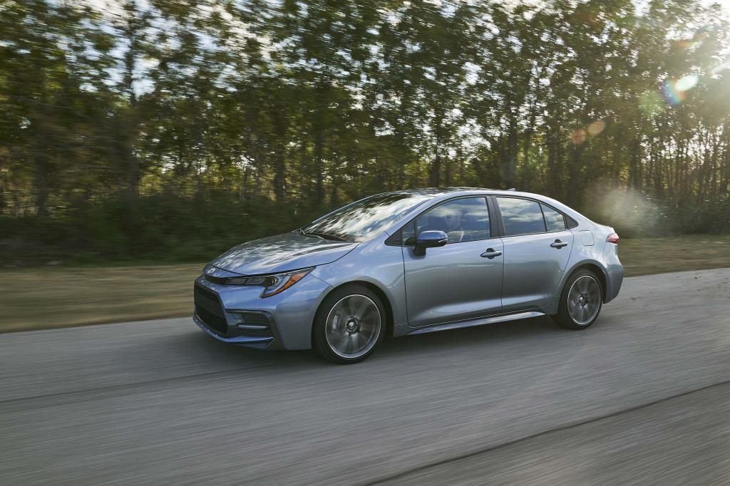 2020 Toyota Corolla Hybrid's fuel economy rivals Prius, other models less impressive