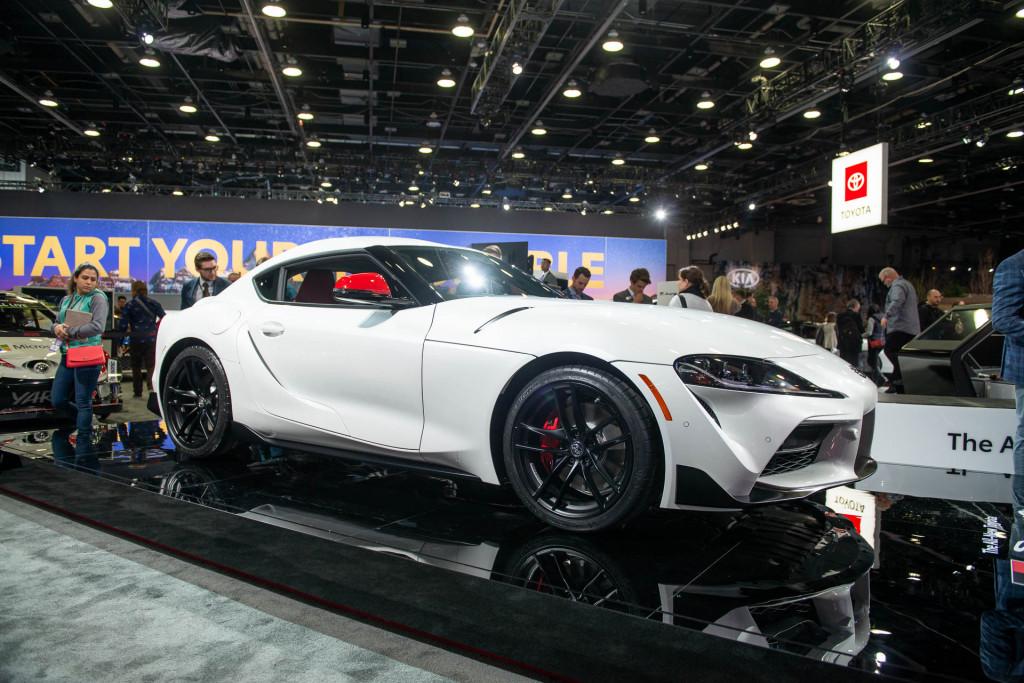 2020 Toyota Supra, 2019 Detroit auto show