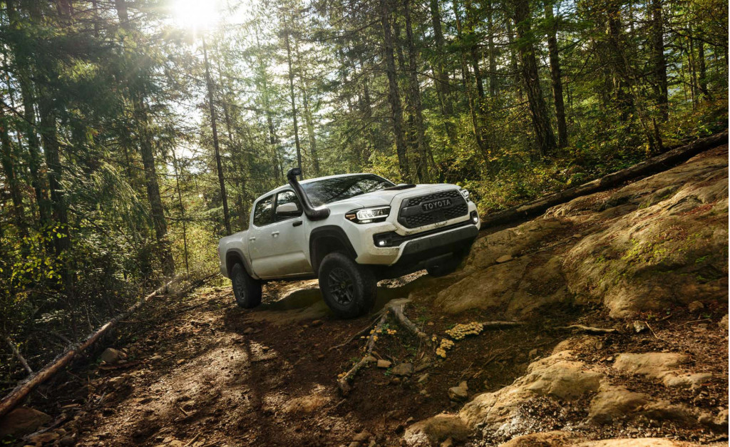 2020 Toyota Tacoma Review Ratings Specs Prices And Photos The Car Connection