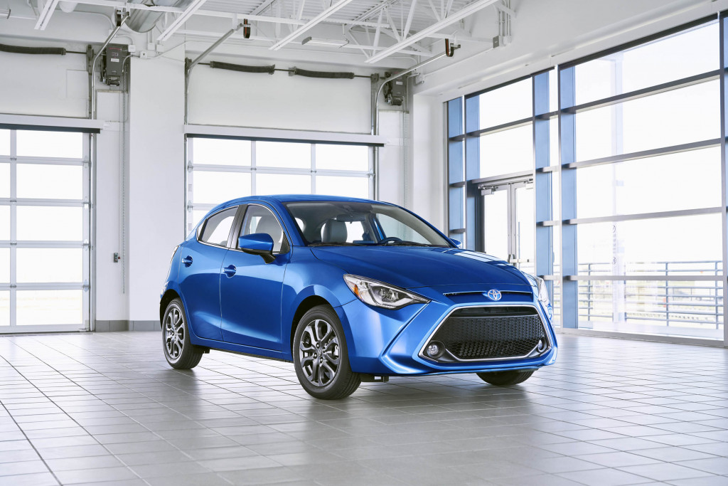 How many doors would you like with your 2020 Yaris? Toyota charges same for sedan, hatchback