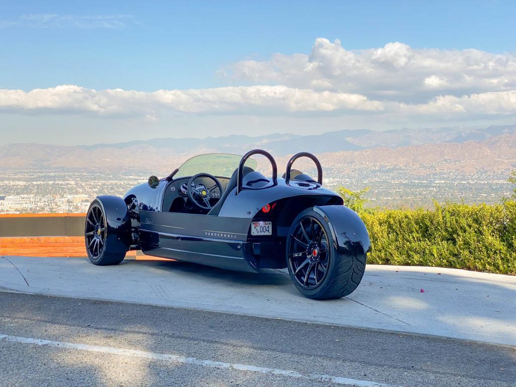 2020 Vanderhall Edison three wheeler