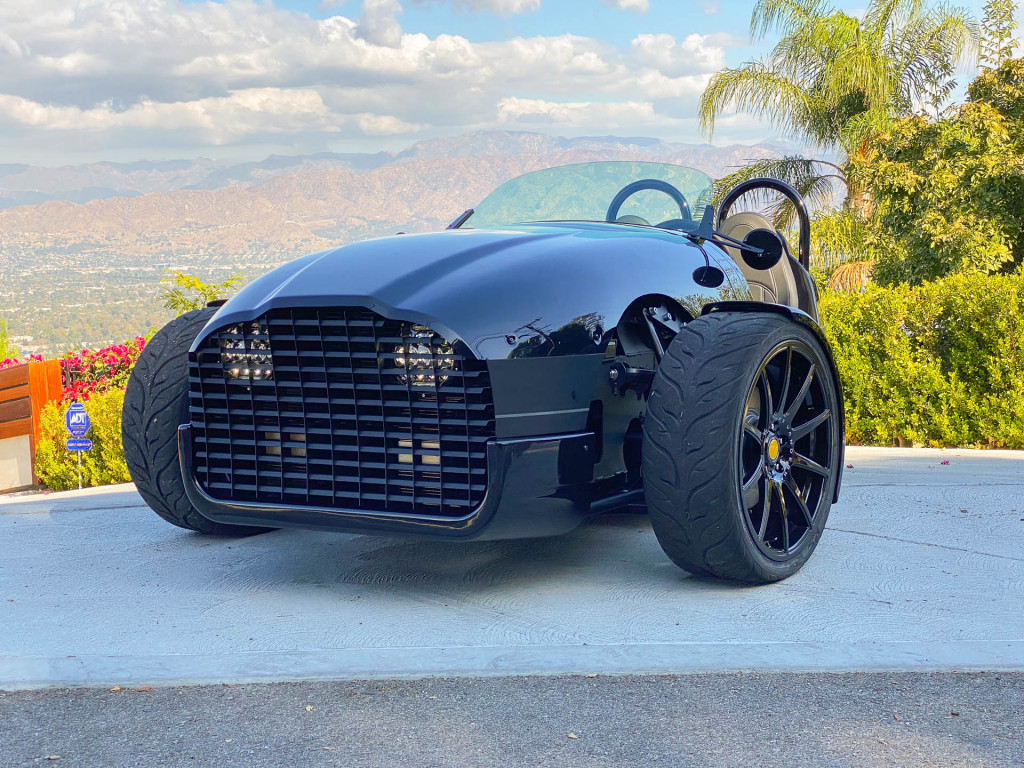 First drive review: The 2020 Vanderhall Edison three-wheeler is a fun way to go green