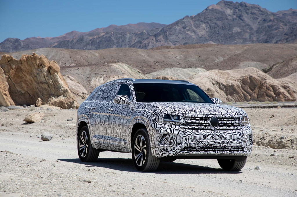 2020 Volkswagen Atlas Cross Sport prototype