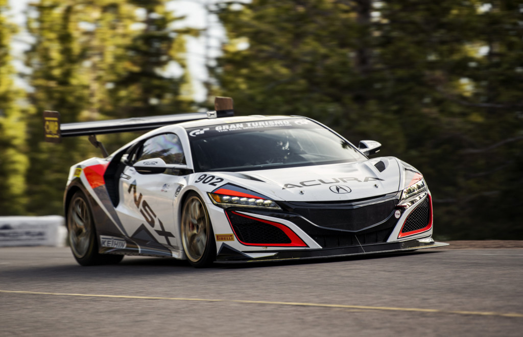 acura to tackle 2020 pikes peak with tlx type s, nsx time
