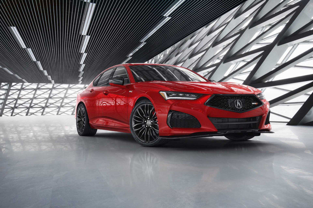 2021 Acura TLX preview