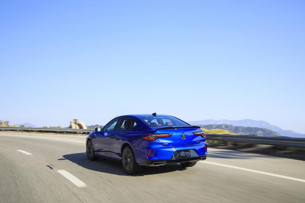 2021 Acura TLX A-Spec SH-AWD
