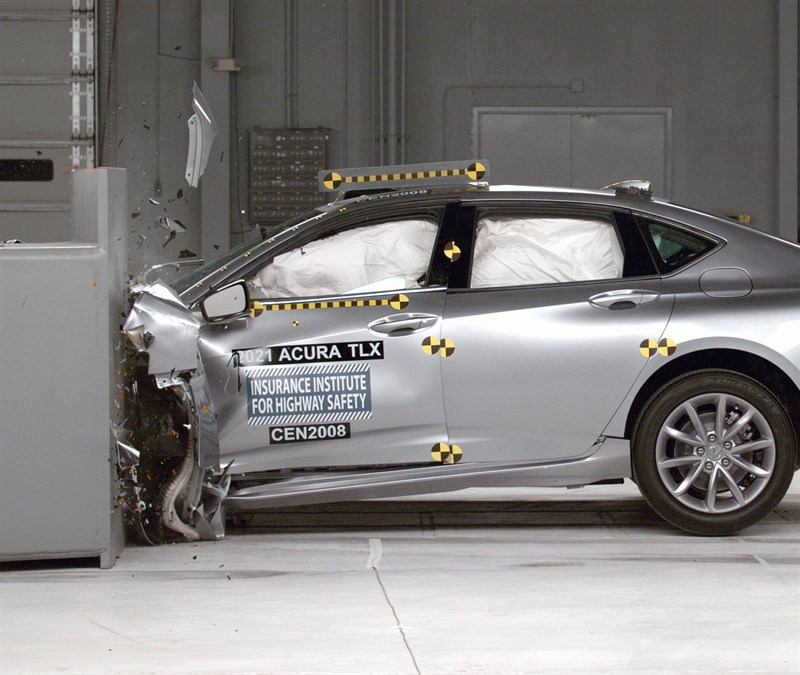 2021 Acura TLX earns Top Safety Pick+
