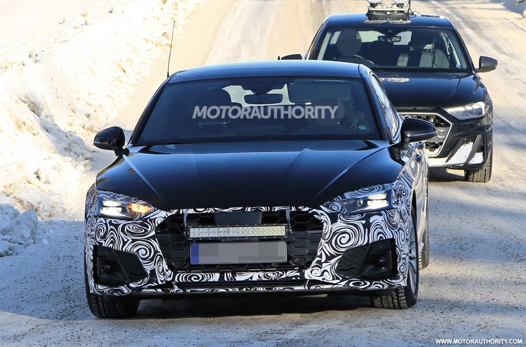 2021 Audi A5 Sportback spy shots