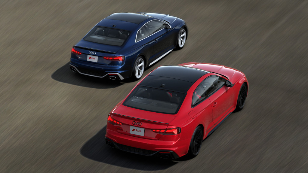 2021 Audi RS 5 Ascari Launch Edition and RS 5 Black Launch Edition