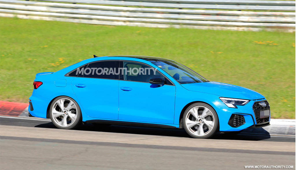2021 Audi S3 spy shots - Photo credit: S. Baldauf/SB-Medien