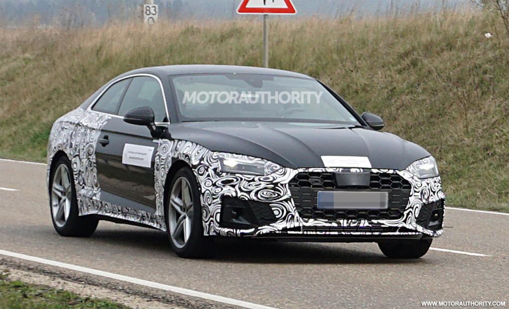 2021 Audi S5 spy shots