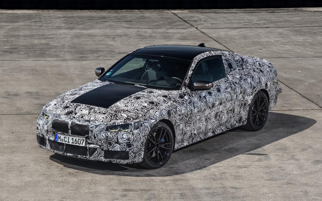 2021 BMW 4-Series prototype