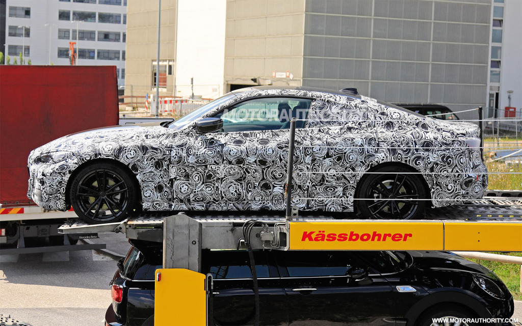 2021 BMW 4-Series spy shots - Image via S. Baldauf/SB-Medien