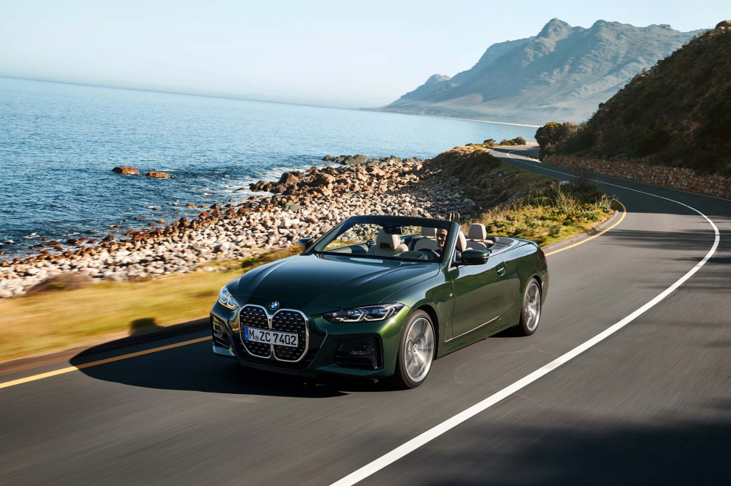 2021 BMW 4-Series Convertible