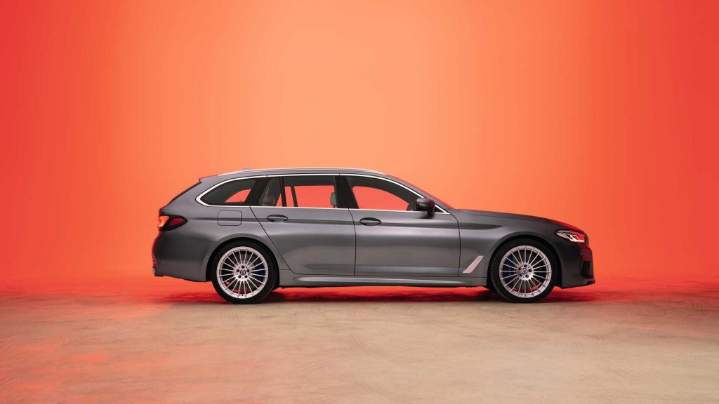 alpina rolls out updated b5 based on the 2021 bmw 5series