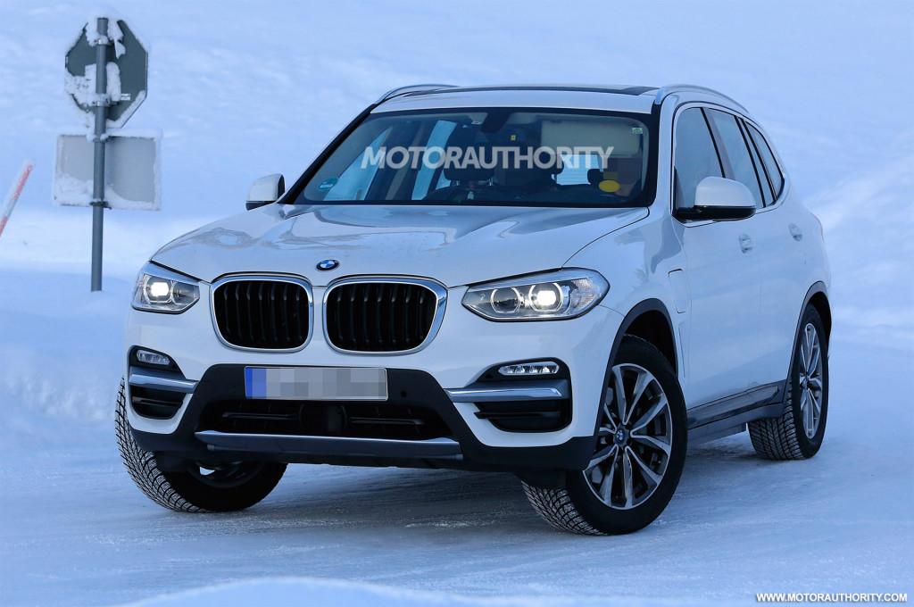 2021 BMW iX3 spy shots