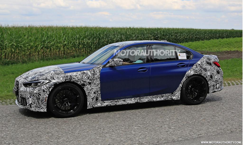 2021 BMW M3 spy shots - Photo credit: S. Baldauf/SB-Medien