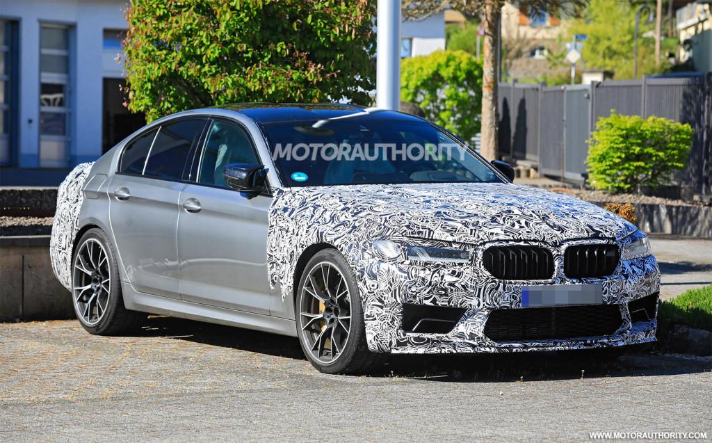 2021 BMW M5 CS spy shots - Photo credit: S. Baldauf/SB-Medien