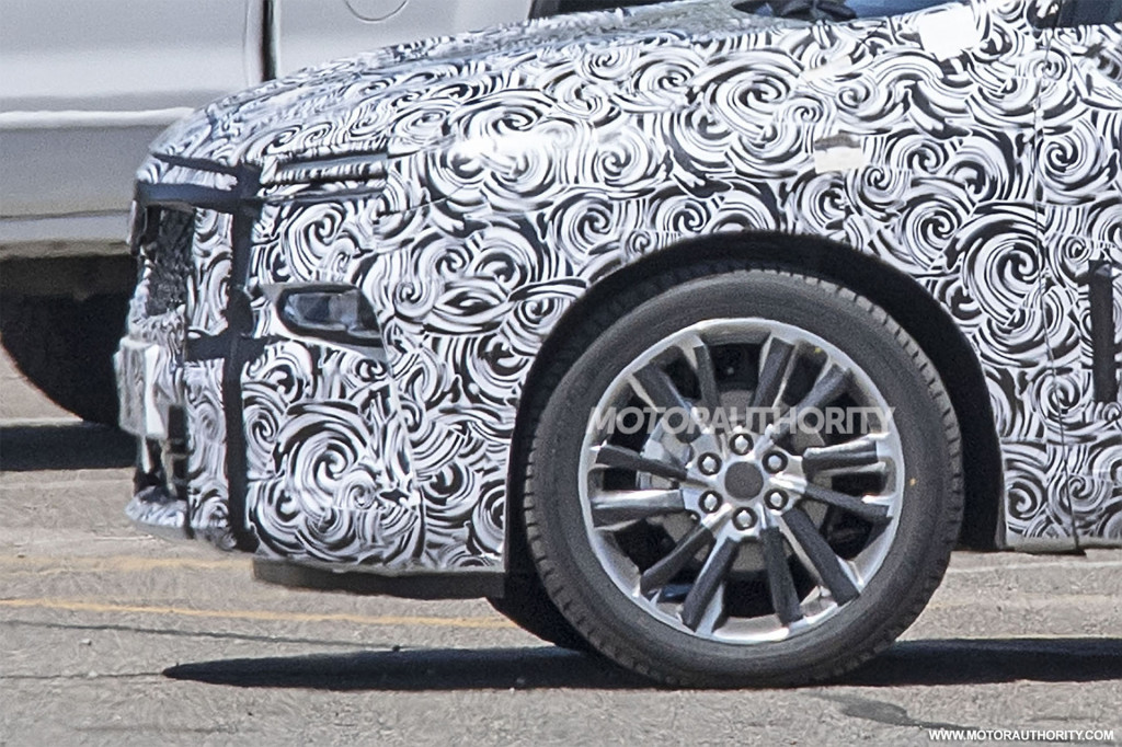 2021 Buick 3-row crossover spy shots