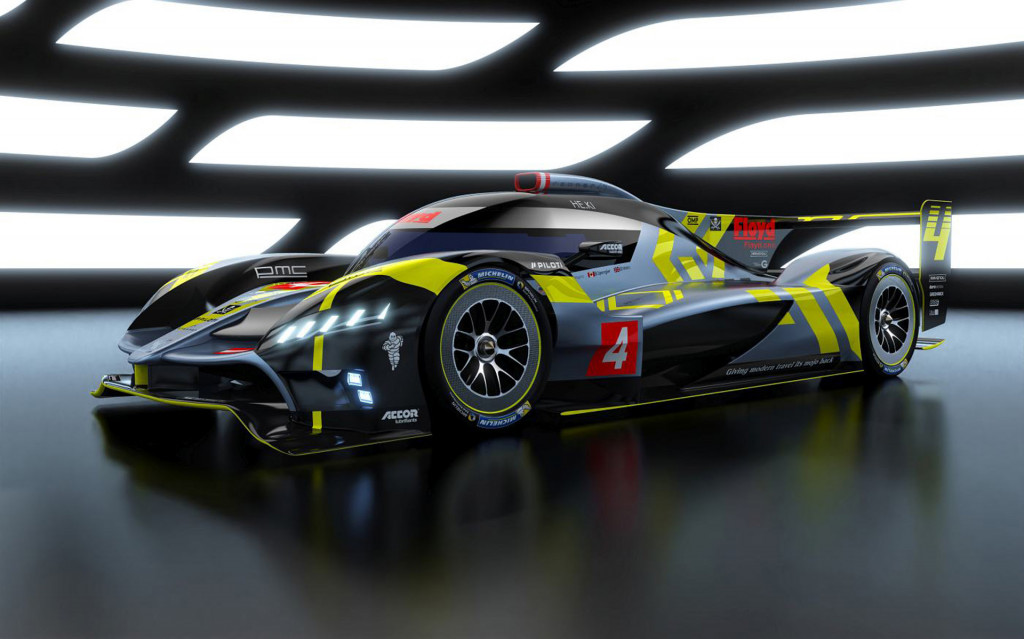 2021 ByKolles PMC Project Le Mans Hypercar race car