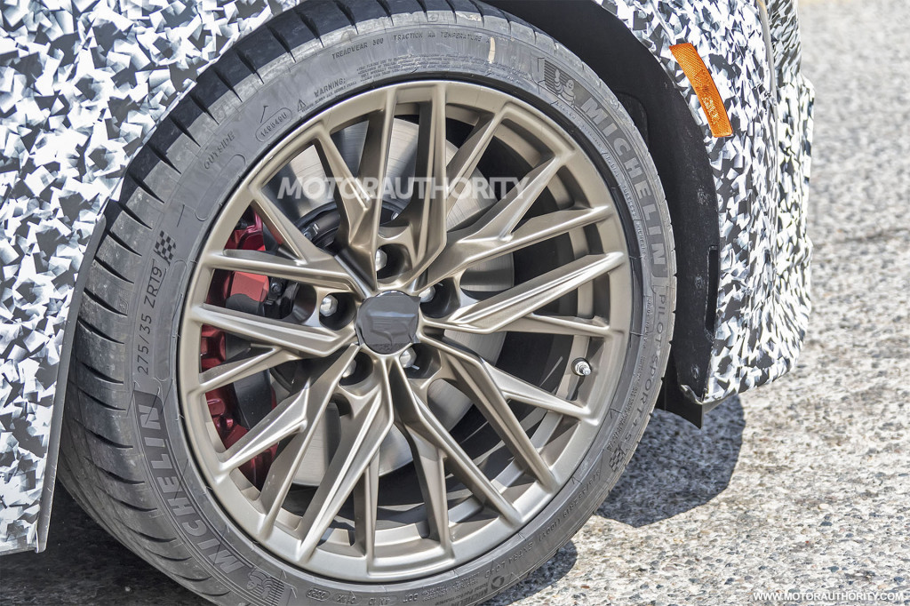 2022 Cadillac CT5-V Blackwing spy shots - Photo credit: S. Baldauf/SB-Medien