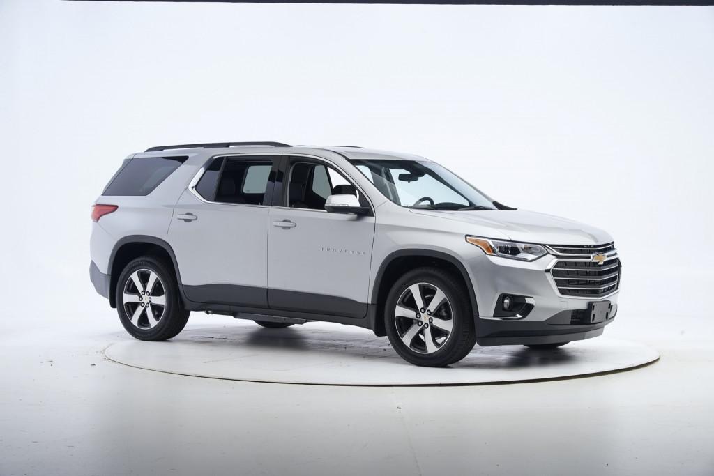 2021 Chevrolet Traverse in IIHS testing
