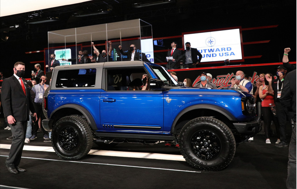 2021 Ford Bronco at Barrett-Jackson auction