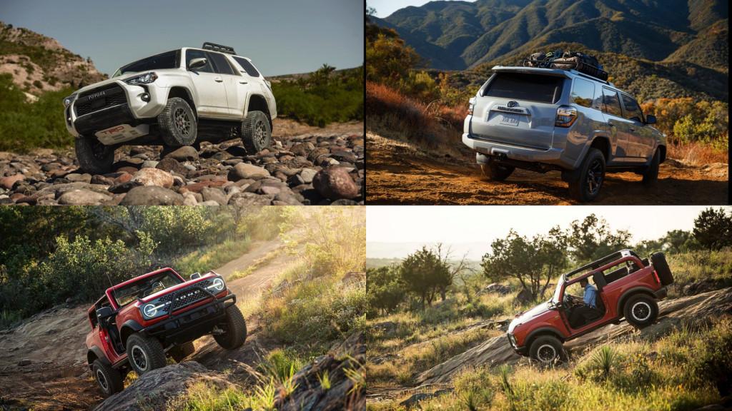 2021 Ford Bronco vs 2021 Toyota 4Runner