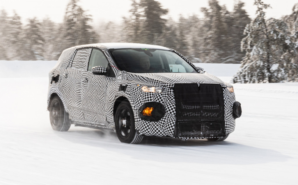 2021 Ford Mustang-inspired electric SUV teased in new video, photos