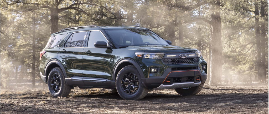 2021 Ford Explorer Timberline gets ready to rumble