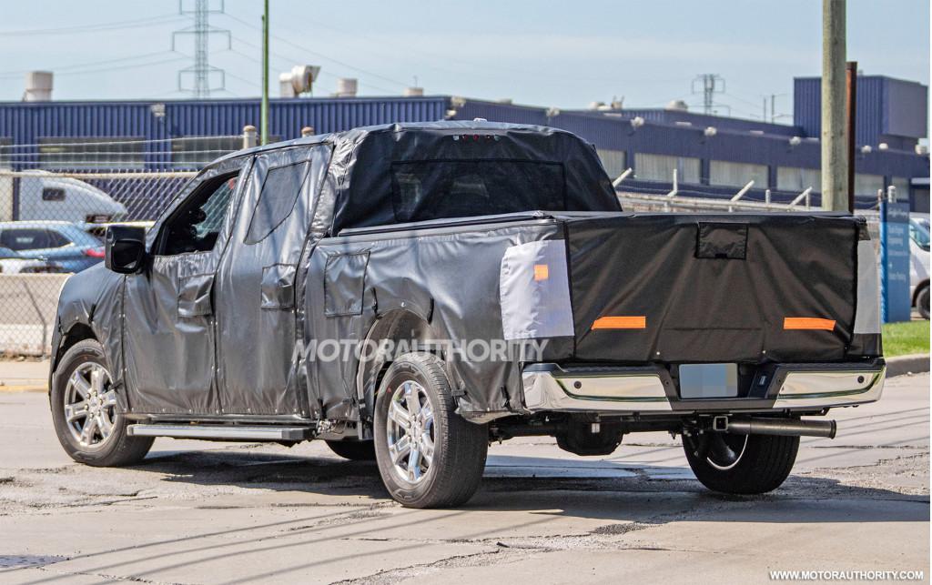 2021 Ford F-150 spy shots - Image via S. Baldauf/SB-Medien