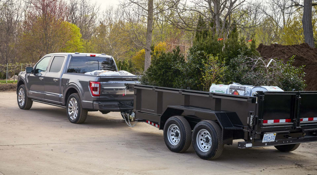 2021 Ford F-150 tow technology