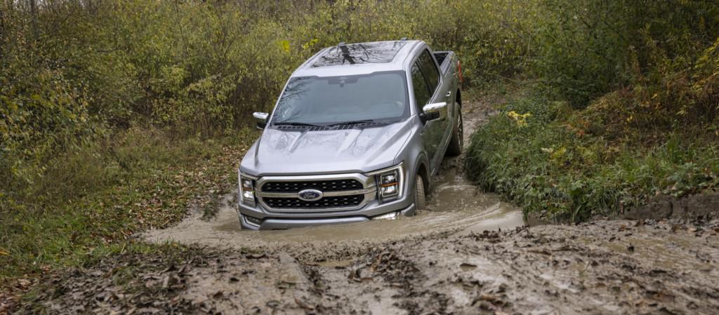 2021 Ford F-150 Platinum off-road
