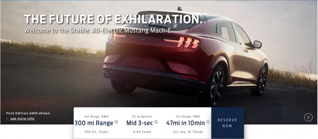 2021 Ford Mustang Mach-E leak