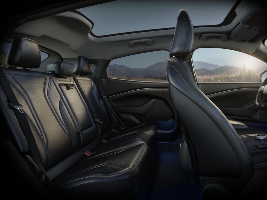 We Rode In The 2021 Ford Mustang Mach E Here S What It Felt Like