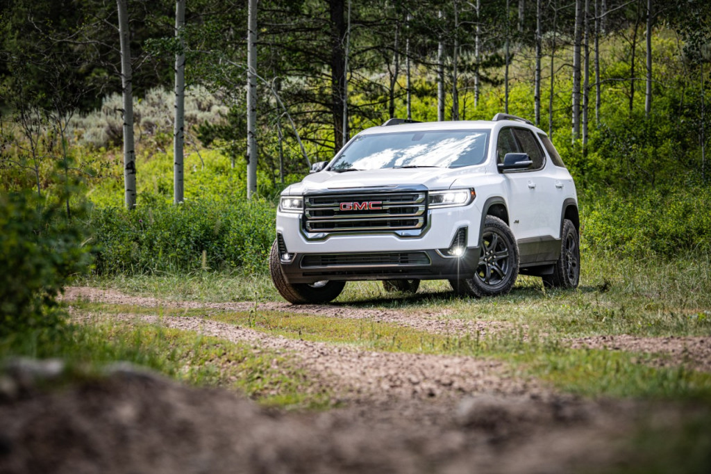 2021 Gmc Acadia Pictures Photos Gallery The Car Connection