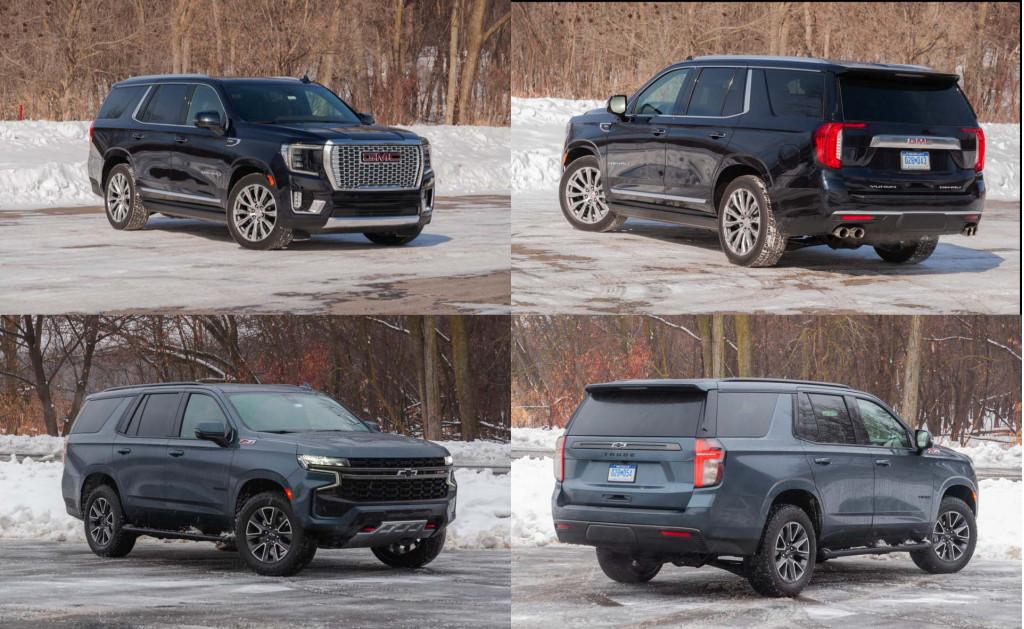 2021 Chevrolet Tahoe vs. 2021 GMC Yukon: Compare SUVs