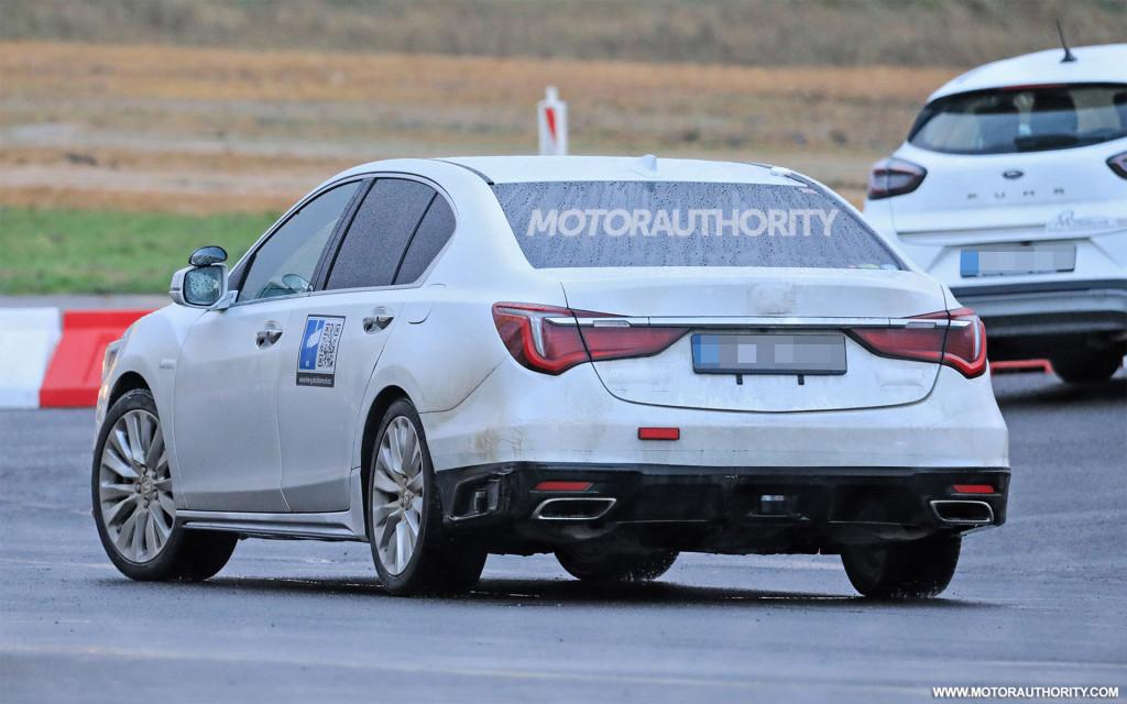 2021 Honda Legend facelift spy shots - Photo credit:S. Baldauf/SB-Medien