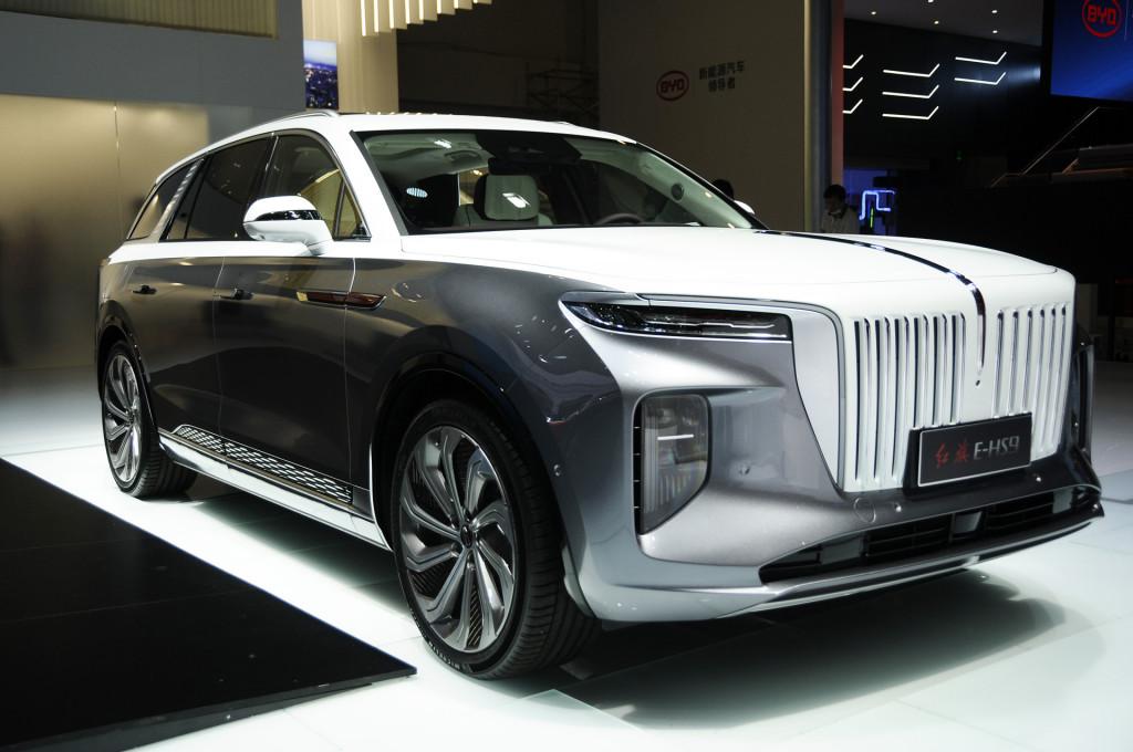 2021 Hongqi E-HS9 - 2020 Beijing auto show