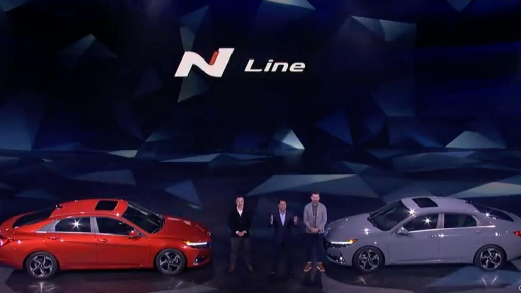 2021 Hyundai Elantra N Line announcement