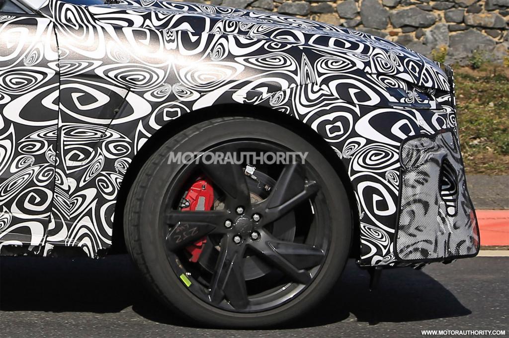 2021 Jaguar F-Pace SVR facelift spy shots - Photo credit: S. Baldauf/SB-Medien