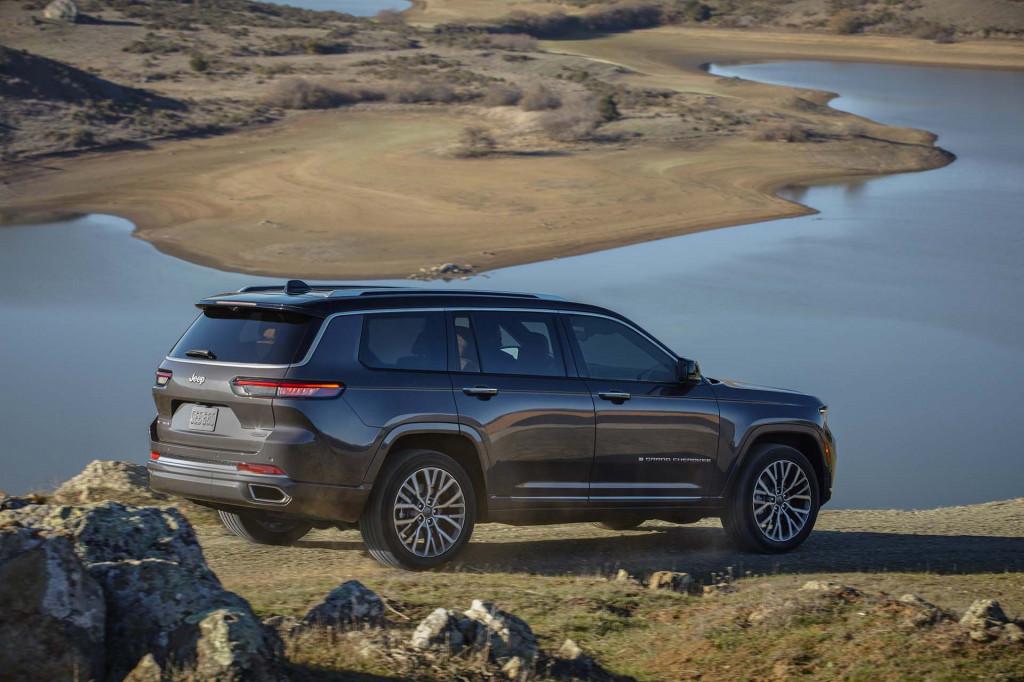 First drive: 2021 Jeep Grand Cherokee L summits three-row SUV peak
