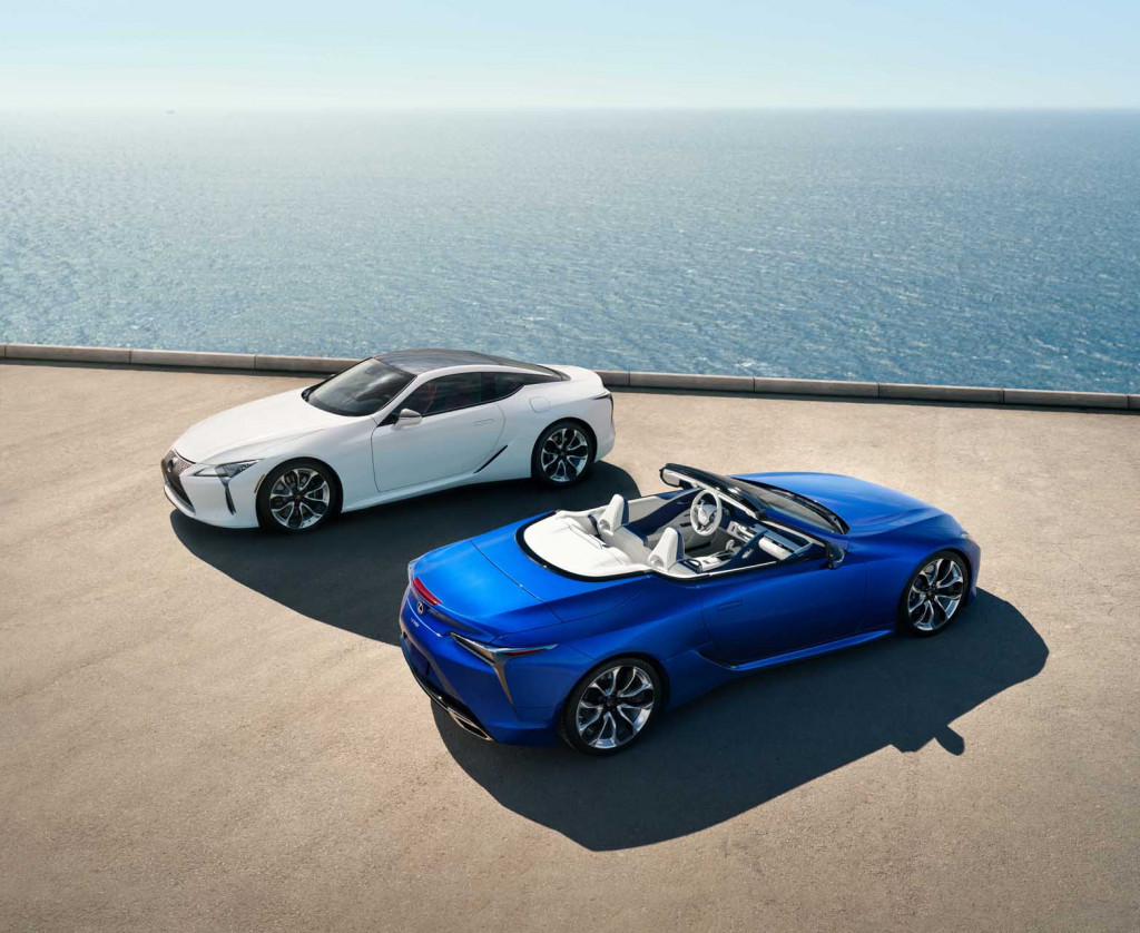 2021 Lexus LC 500 Convertible first look: Open air opulence for $102,025